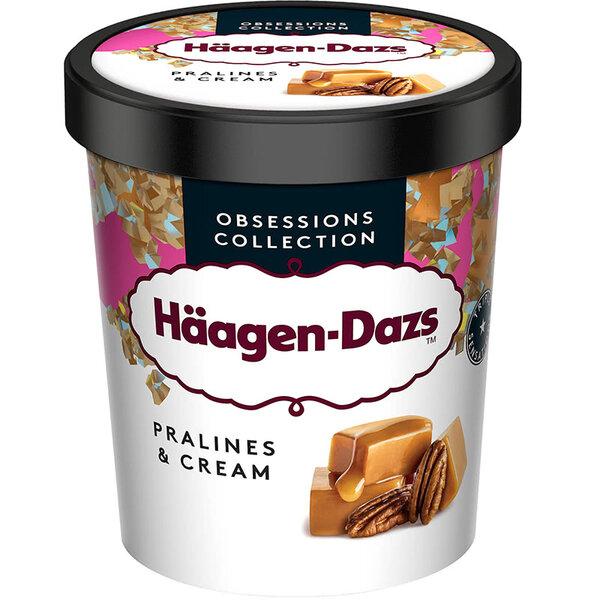 Haagen-Dazs сладолед пралин и крем