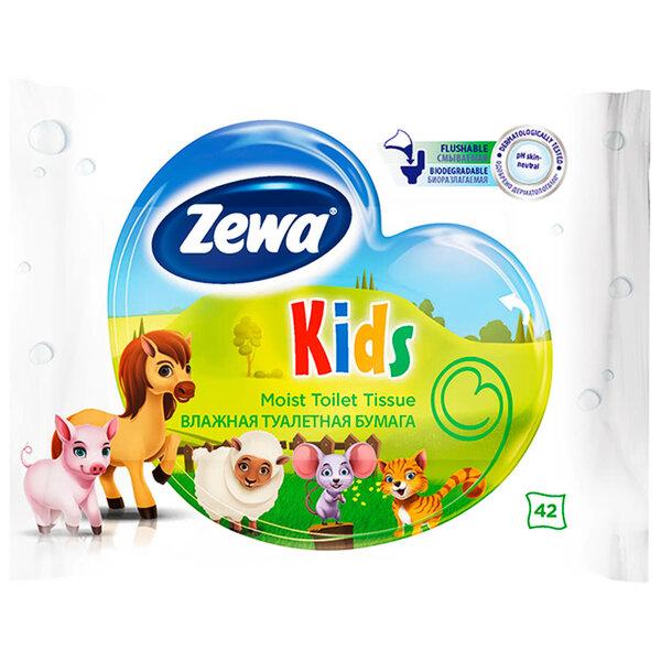 Zewa Kids влажна тоалетна хартия