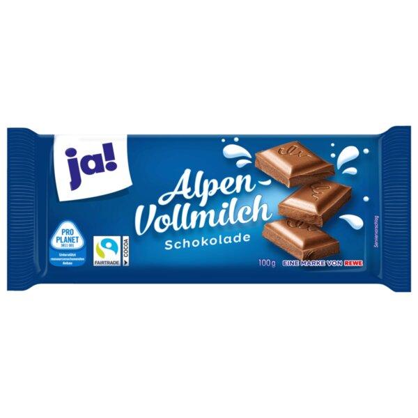 JA! млечен шоколад