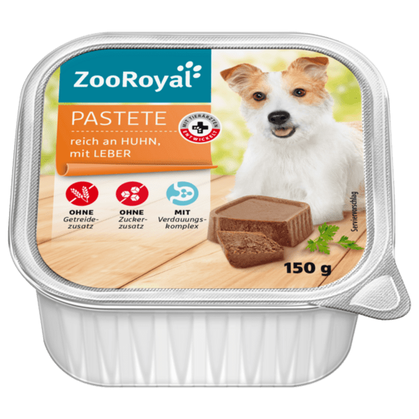 Zoroyal пастет пилешко и дроб за куче