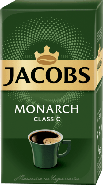 Jacobs Monarch Classic мляно кафе (250 г)