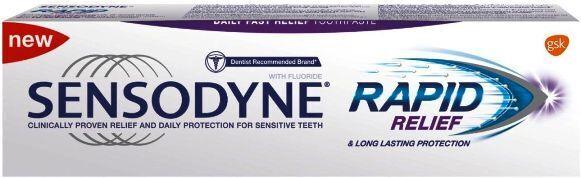 Sensodyne паста за зъби Rapid Relief