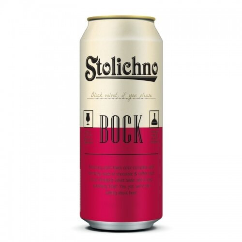 Stolichno бок бира кен 6.5%