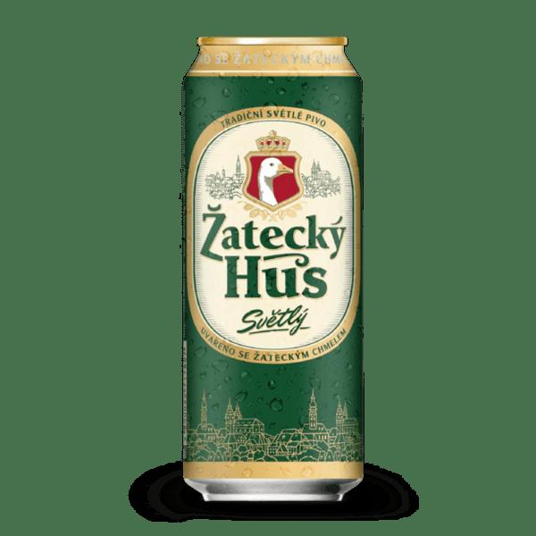 Zatecky Hus бира Lager в кен