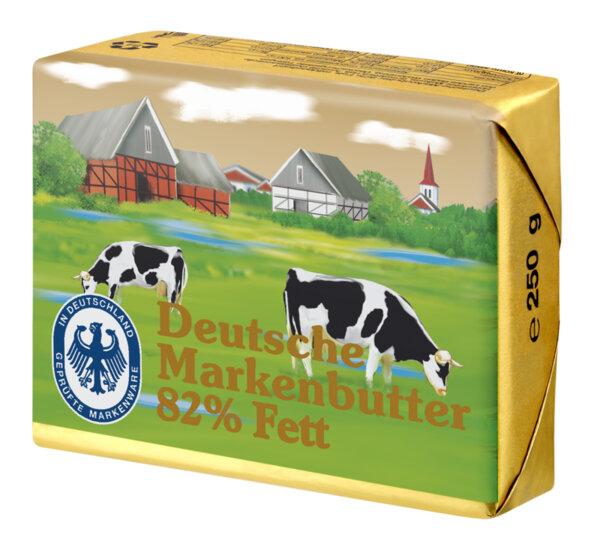 Deutsche Markenbutter краве масло 82%