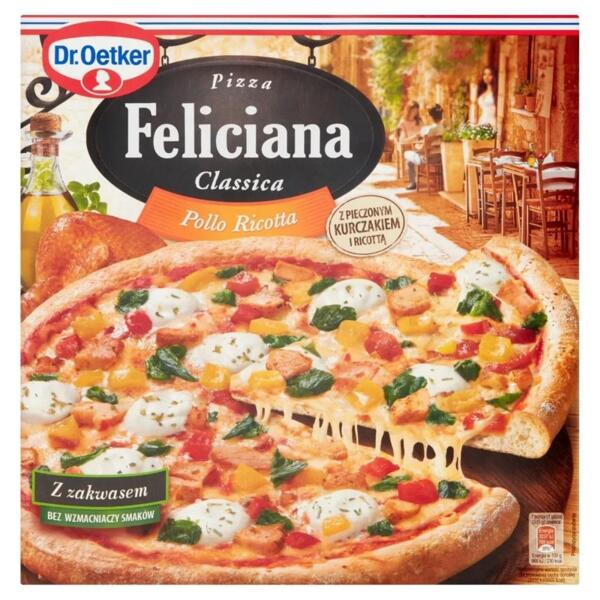 Dr. Oetker пица рикота и пиле Феличиана