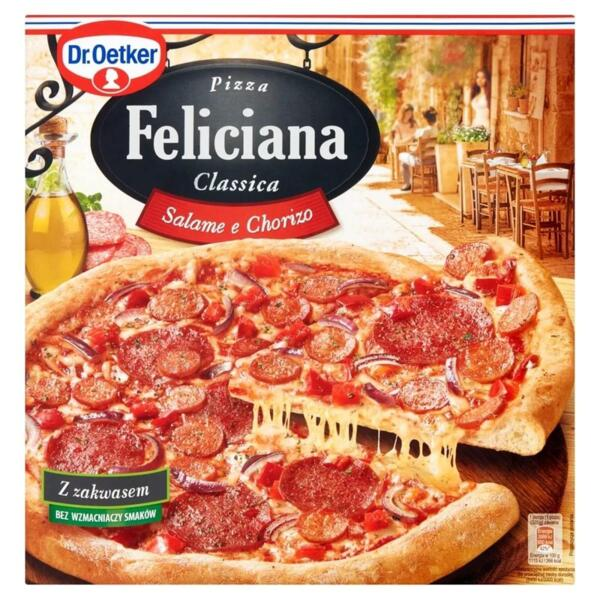 Dr. Oetker пица салам и чоризо Феличиана