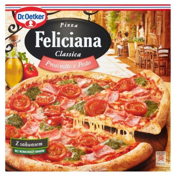 Dr. Oetker пица прошуто и песто Феличиана