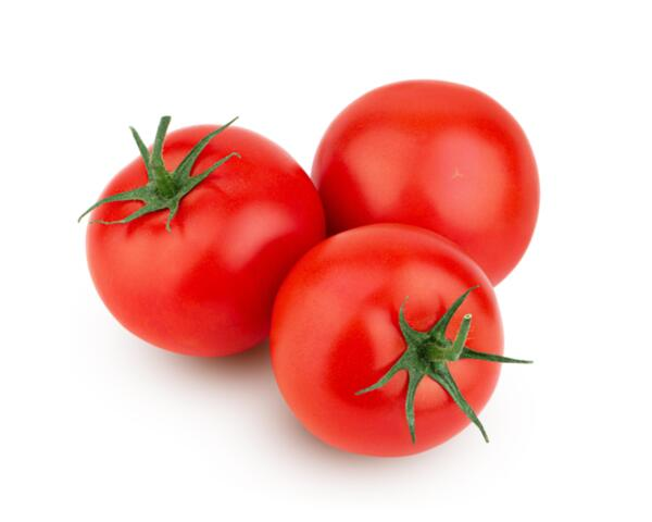 Червени пресни домати