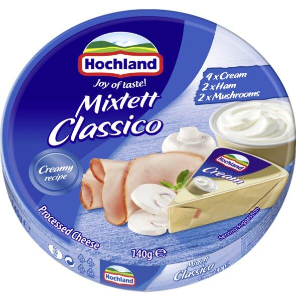 Hochland топени сирена микс класико