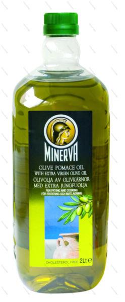 Minerva маслиново масло класико екстра върджин от кюспе (2 л)