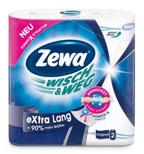 Zewa кухненска хартия Extra Long (2 х 86 къса)