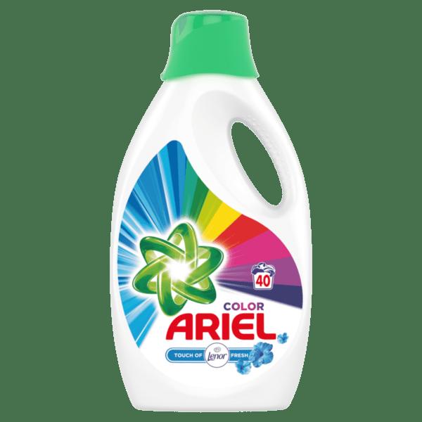 Ariel течен препарат за пране Lenor Touch (40 пранета)