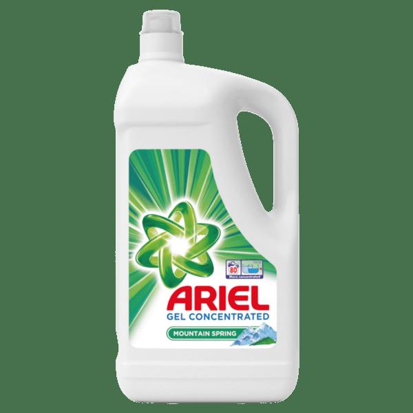 Ariel течен препарат за пране планинска пролет (80 пранета)