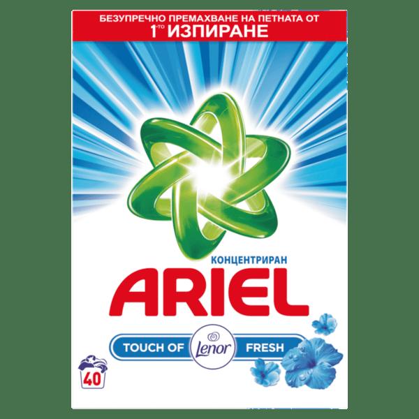 Ariel прах за пране Lenor Touch (40 пранета)