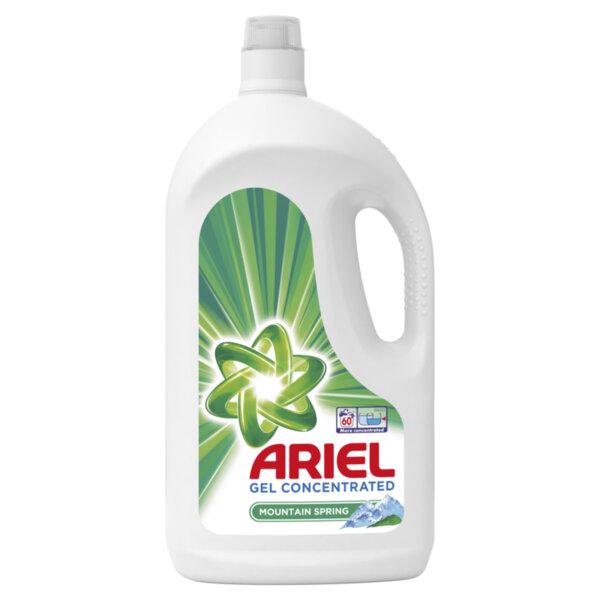 Ariel течен препарат за пране планинска пролет (60 пранета)