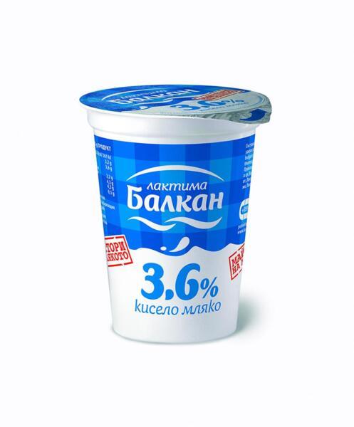Балкан краве кисело мляко 3.6%
