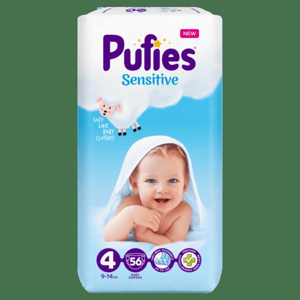 Puffies Sensitive Maxi 4 (7 кг. - 14 кг.)