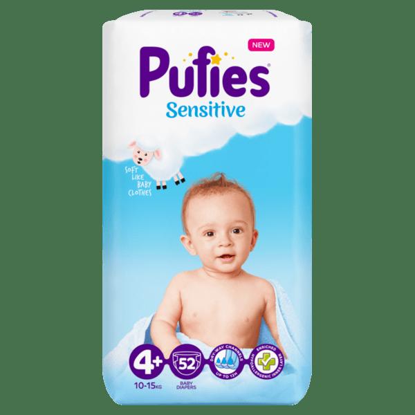 Puffies Sensitive Maxi 4+ (9 кг. - 16 кг.)