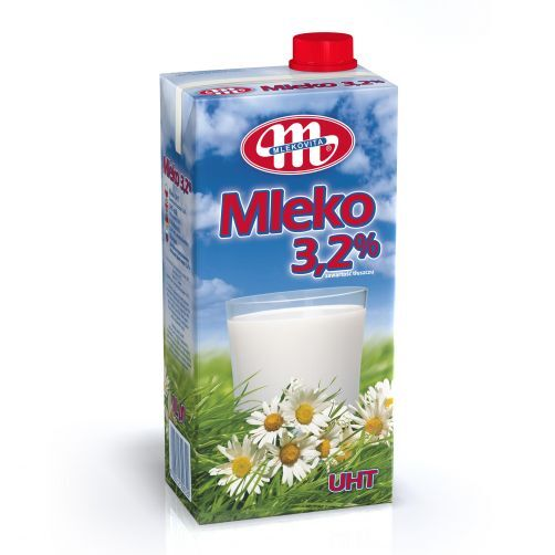 Mlekovita прясно мляко UHT 3.2%