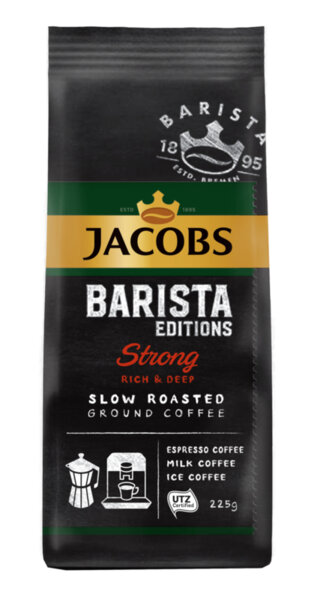 Jacobs Barista Editions Strong мляно кафе