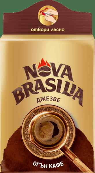 Nova Brasilia Джезве мляно кафе