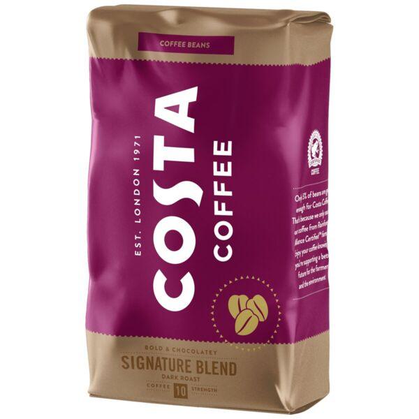 Costa Coffee кафе на зърна сигничър дарк, 10