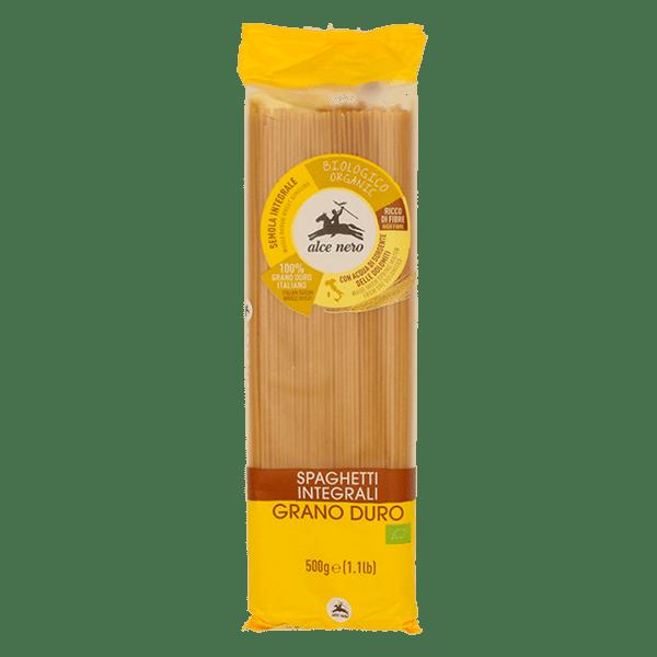 Alce Nero био пълнозърнести спагети от семолина