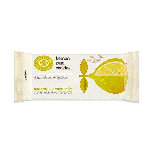 Doves Farm био лимонови бисквитки, без глутен