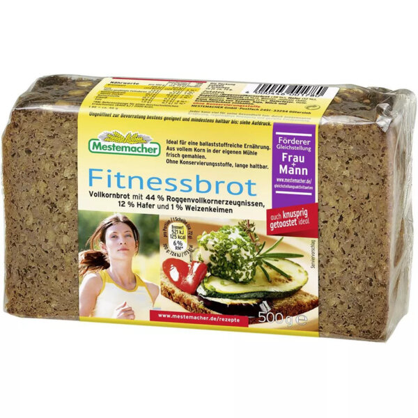 Mestemacher пълнозърнест хляб фитнес