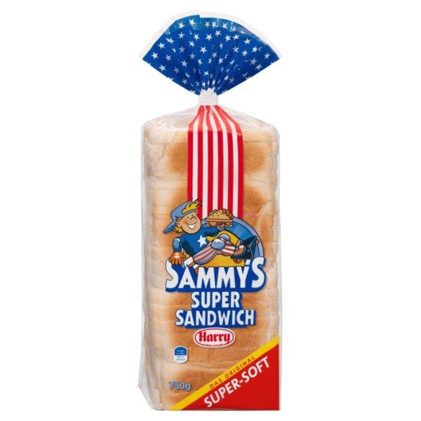 Harry пшеничен хляб за сандвичи Sammy's