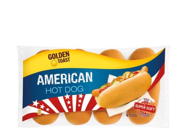 Golden Toast хлебчета хотдог