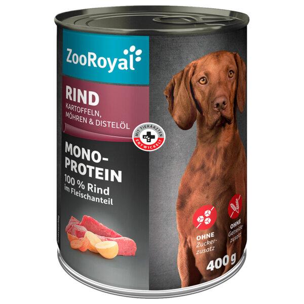 ZooRoyal кучешка храна с говеждо, моркови и картофи