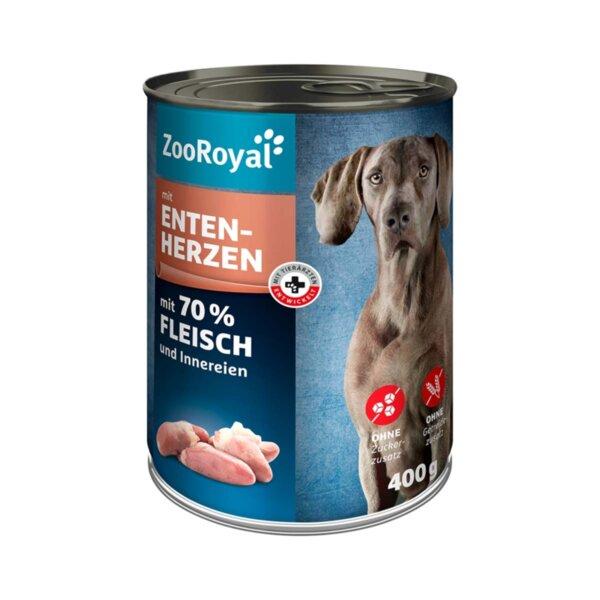 ZooRoyal кучешка храна с говежди сърца