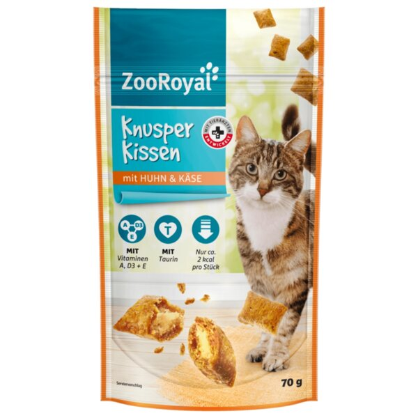 ZooRoyal котешка храна с пиле и сирене