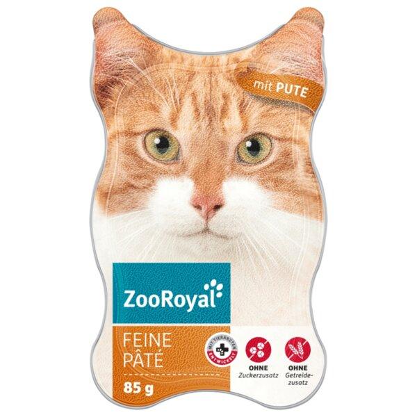 ZooRoyal котешка храна пастет от пуешко