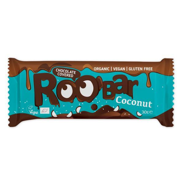 Roobar био кокосов бар покрит с шоколад