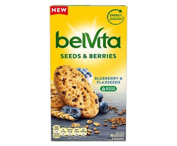 belVita бисквити с боровинки и ленено семе