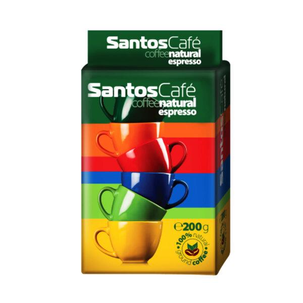 Santos Cafе Natural мляно кафе
