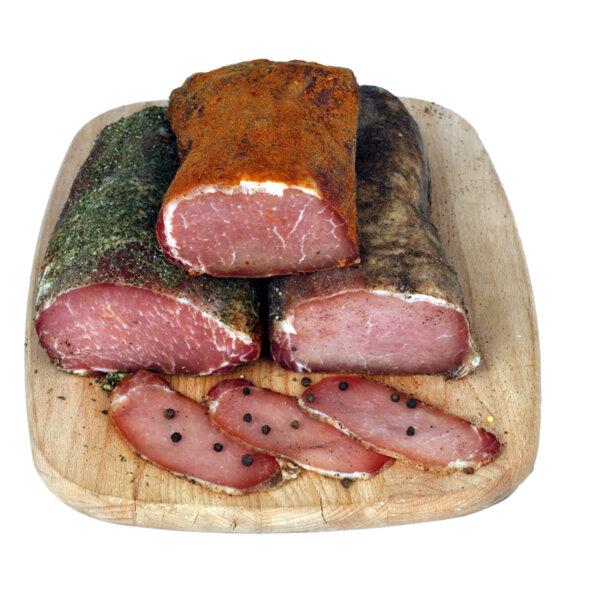 Hit Max сурово-сушено свинско филе с пиперена коричка