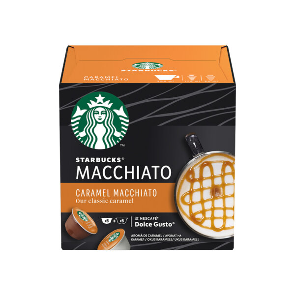 Starbucks Caramel Macchiato кафе капсули съвместими с Dolce Gusto (12 бр.)