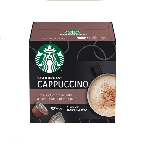 Starbucks Cappuccino кафе капсули съвместими с Dolce Gusto (12 бр.)