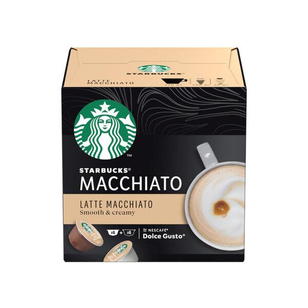 Starbucks Latte Macchiato кафе капсули съвместими с Dolce Gusto (12 бр.)