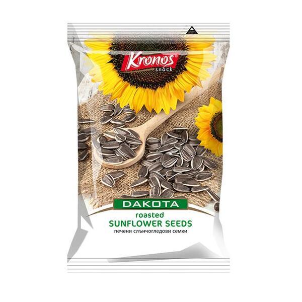 Kronos пъстър печен слънчогледови семки Дакота (130 г)
