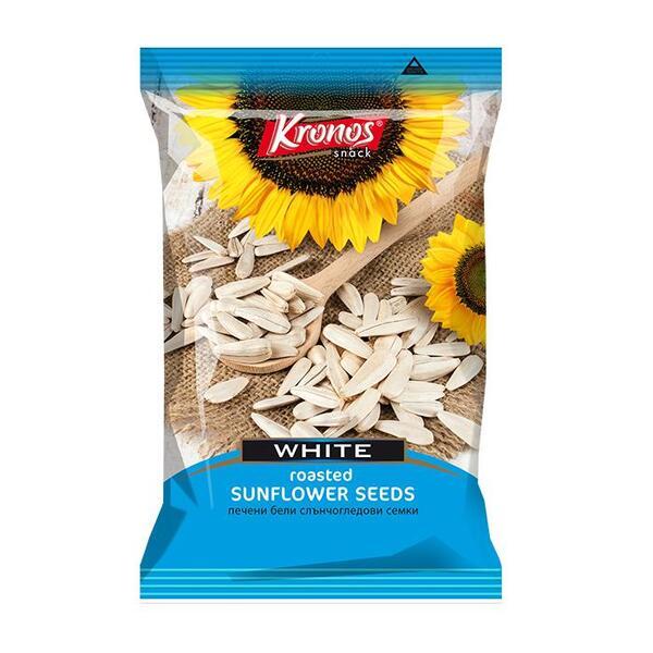 Kronos бели печени слънчогледови семки (130 г)