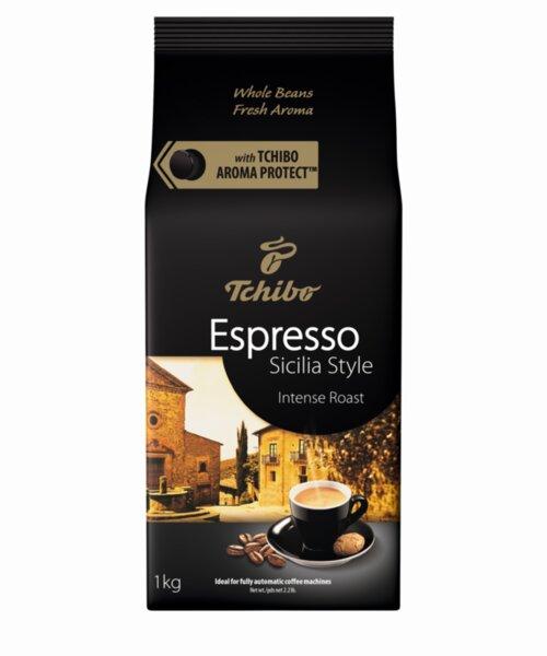 Tchibo Espresso Sizilian Style кафе на зърна