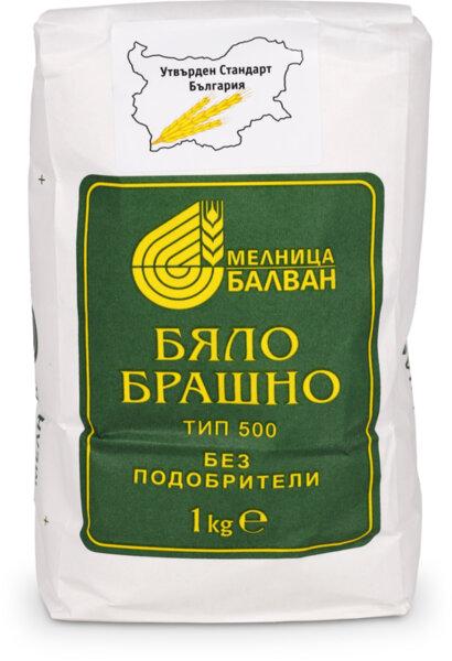 Балван пшенично брашно тип 500