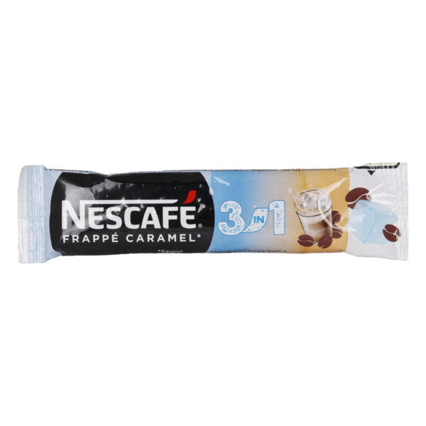 Nescafe 3in1 разтворимо кафе фрапе карамел