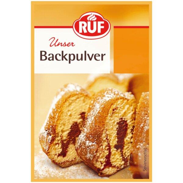 Ruf бакпулвер (5 бр. х 15 г)