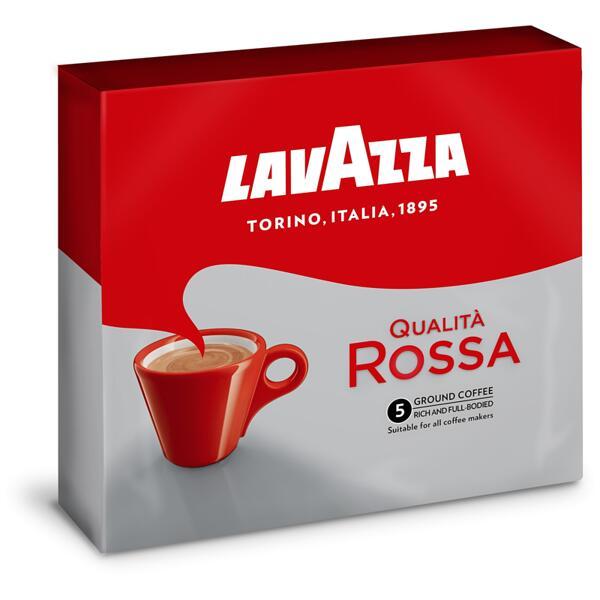 Lavazza Qualita Rossa мляно кафе (2 бр. х 250 г)